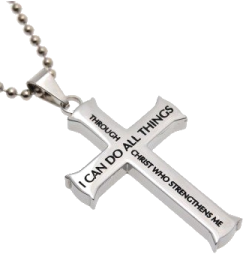 Christian Stainless Steel Abstinence Necklace